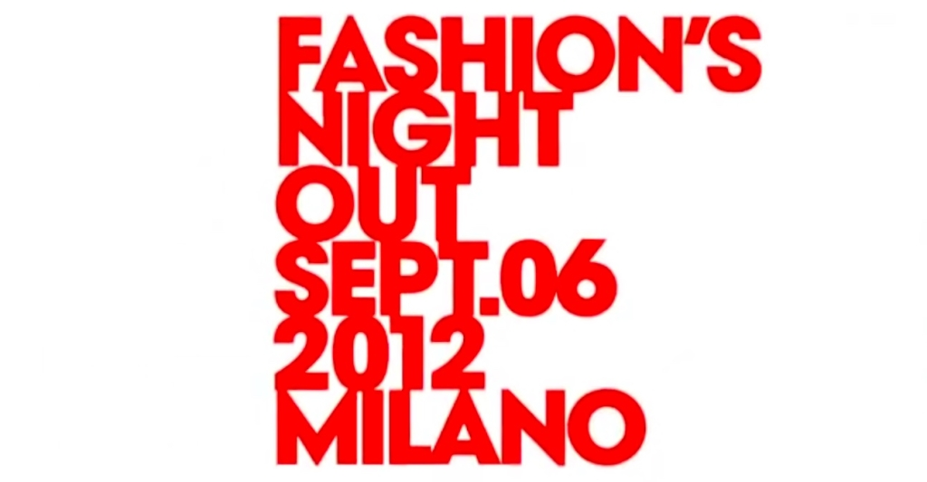 Fashion's Night Out Milano