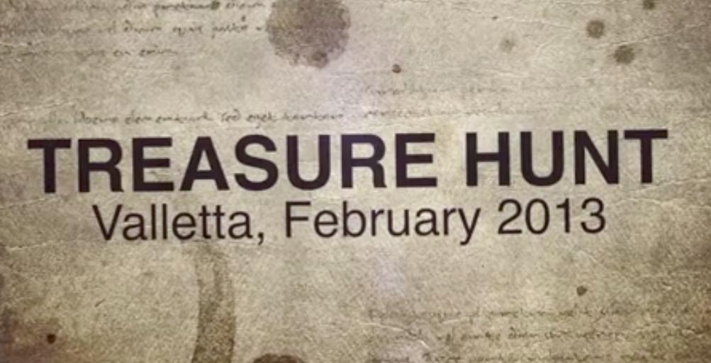 Treasure Hunt Malta 2013