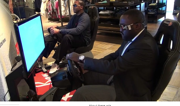 Car-Simulator-Ray-Ban-in-store-Brand-activation-4EON