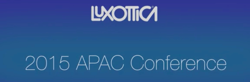 2015 APAC Luxottica Conference